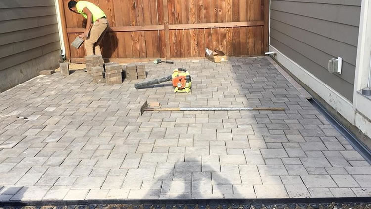 Brick and Paver Patio Construction St. Louis, MO.