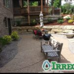 Backyard Landscape Design St. Louis, MO.