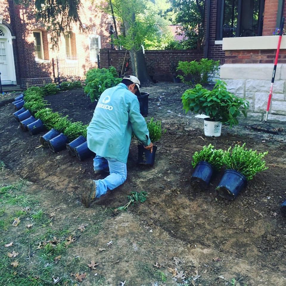 Irreco St Louis Missouri Landscaping Service Area