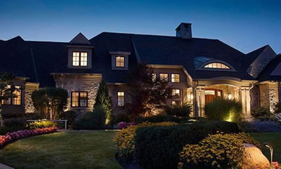 LED Landscape Lighting Installations St. Louis, MO.
