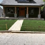 New Lawn Installation Using Grass Seed St. Louis, MO.