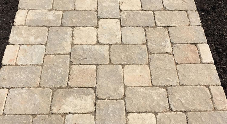Brick or Stone Paver Pathway and Walkway Construction St. Louis, MO.