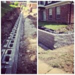 Retaining Wall Construction Project St. Louis, MO.